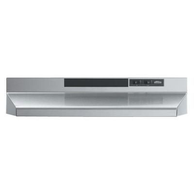 Broan Nutone 30 In Convertible Under Cabinet Range Hood With Light In Stainless Steel 433004 The Home Depot Broan Stainless Range Hood Range Hood