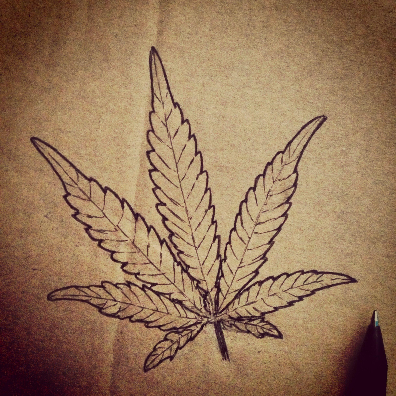A Cannabis Leaf I Drew What Do You Think Www Delta9cloud Com 420
