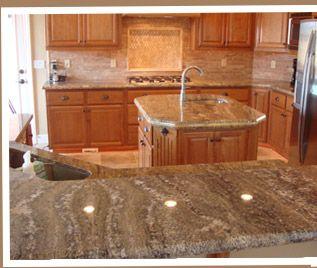 Captivating Sucuri Granite Counters
