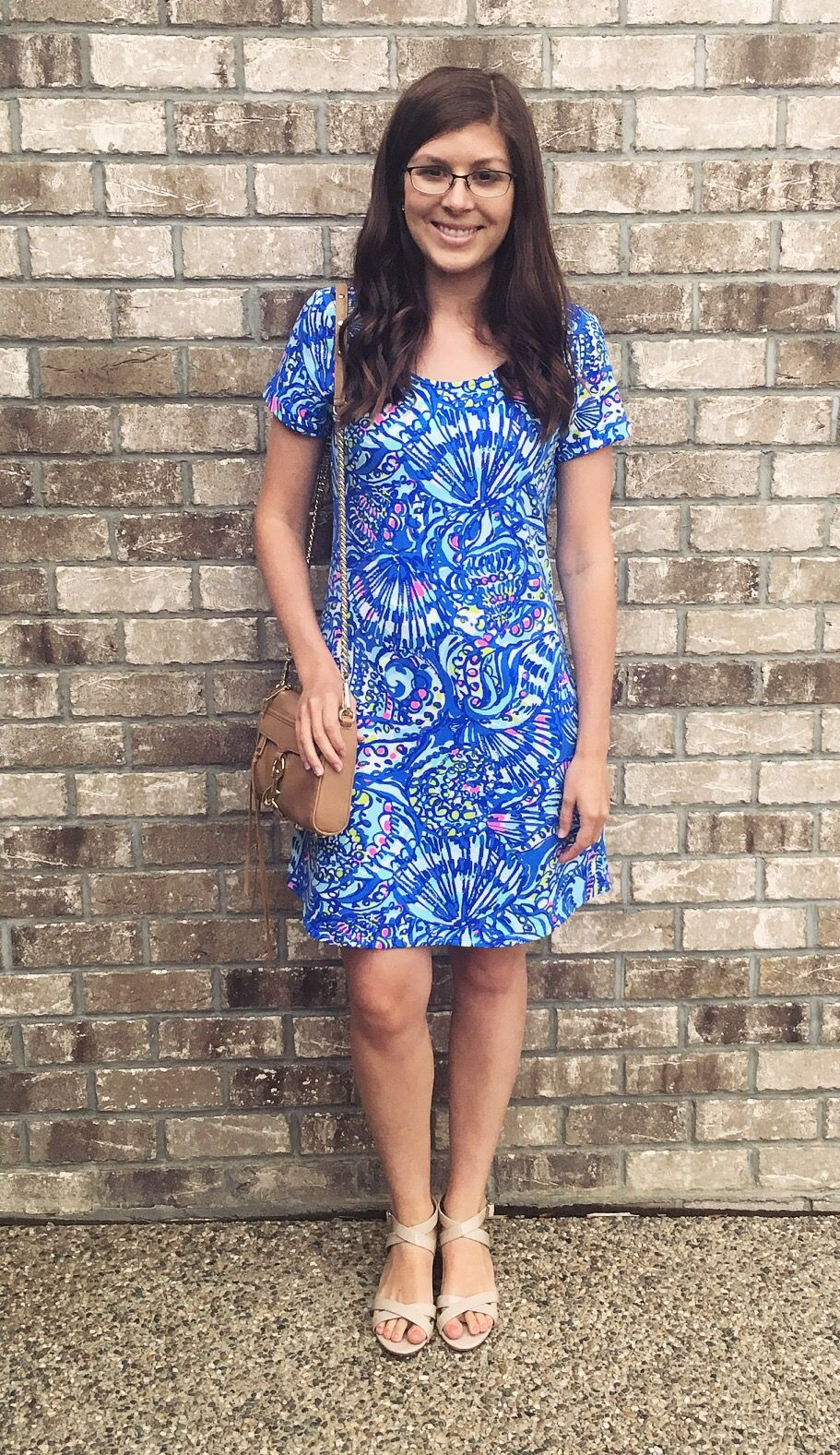a46a7ab8ad9 Lily Pulitzer UPF 50+ Tammy Dress OOTD https   2classysisters.com