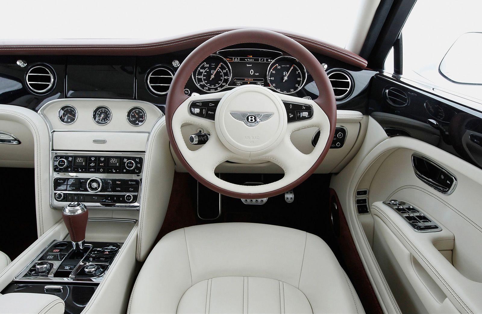 Bentley Brooklands Interior