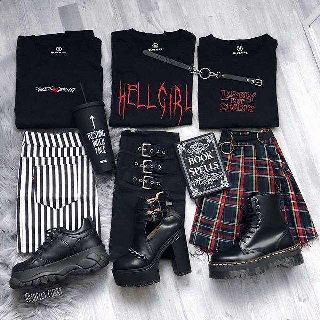 Follow @altgirl66 For More Alternative Grunge And ... - #alternative #altgirl66 #Follow #grunge #vetement