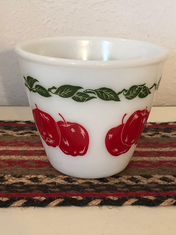 Fire King Apple Bowl Pyrex patterns, Pyrex vintage, Fire