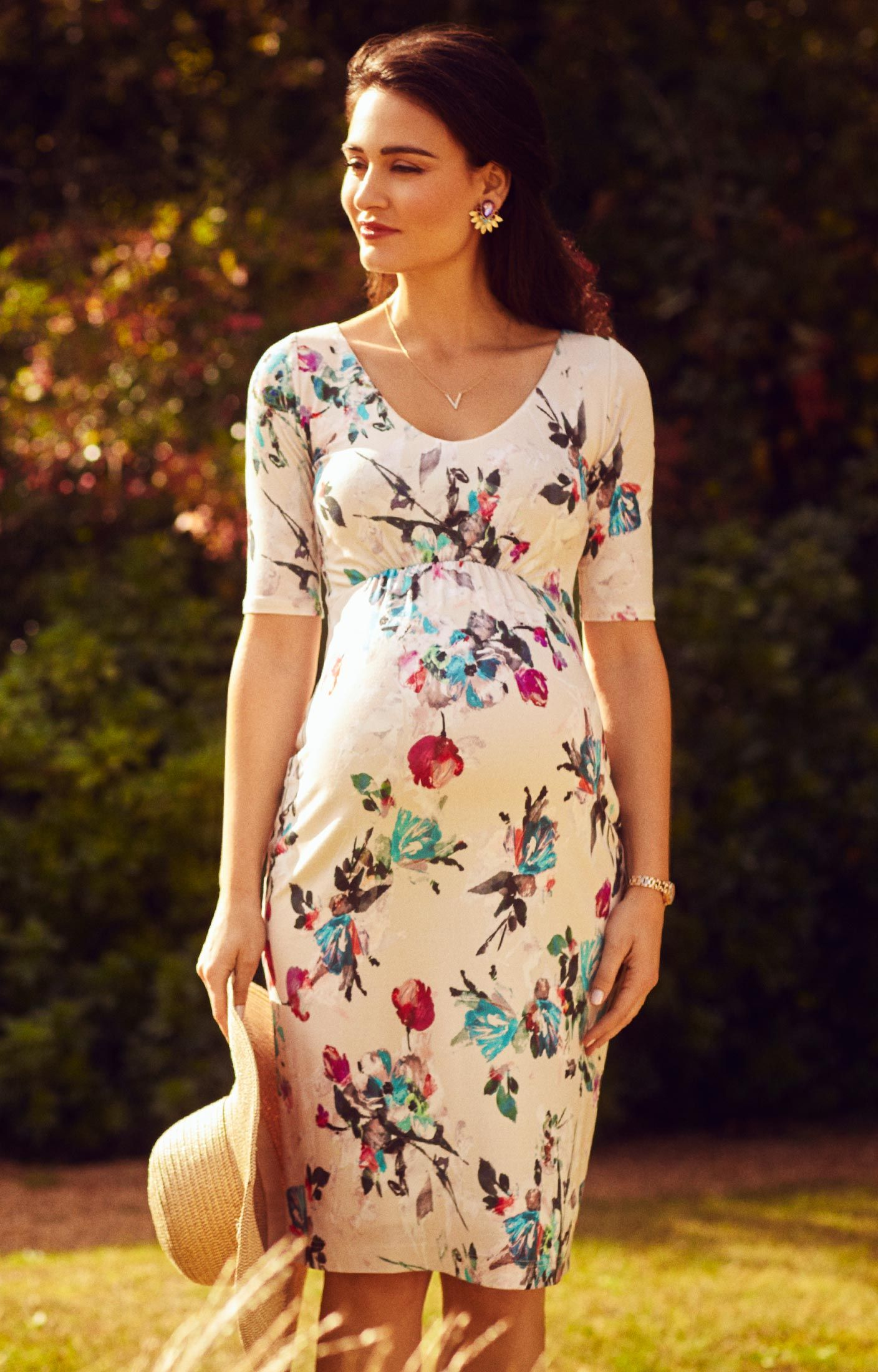 Tilly shift dress dress designs maternity dresses and floral our new painterly floral print tilly shift dress designed to bring you the perfect smart maternity ombrellifo Choice Image