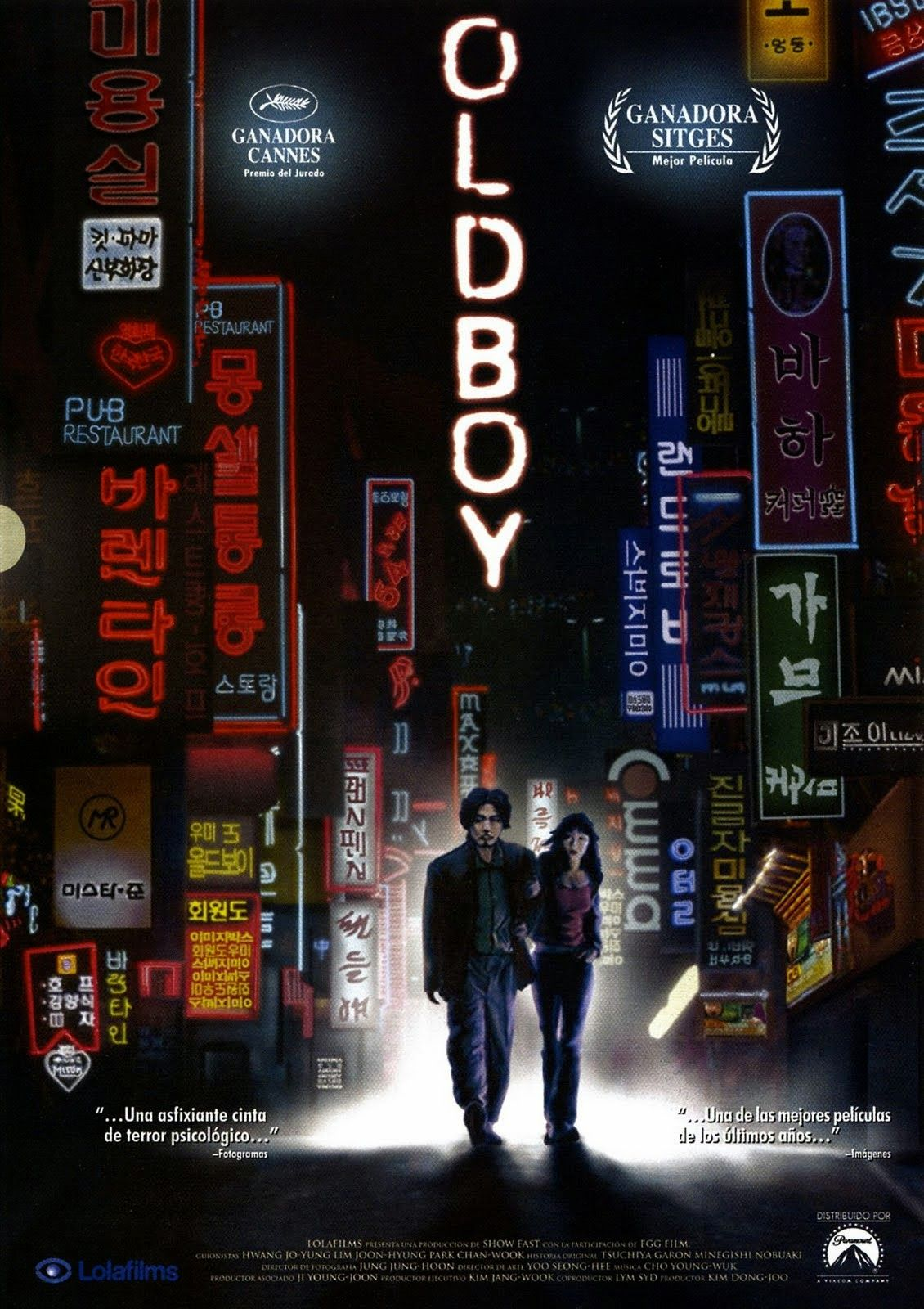 Oldboy (2003) | Oldboy, Top film, Movie stats