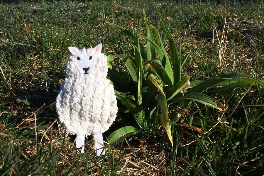 The Sassy Sheep Ewe Sheep Felt Animals Sheep