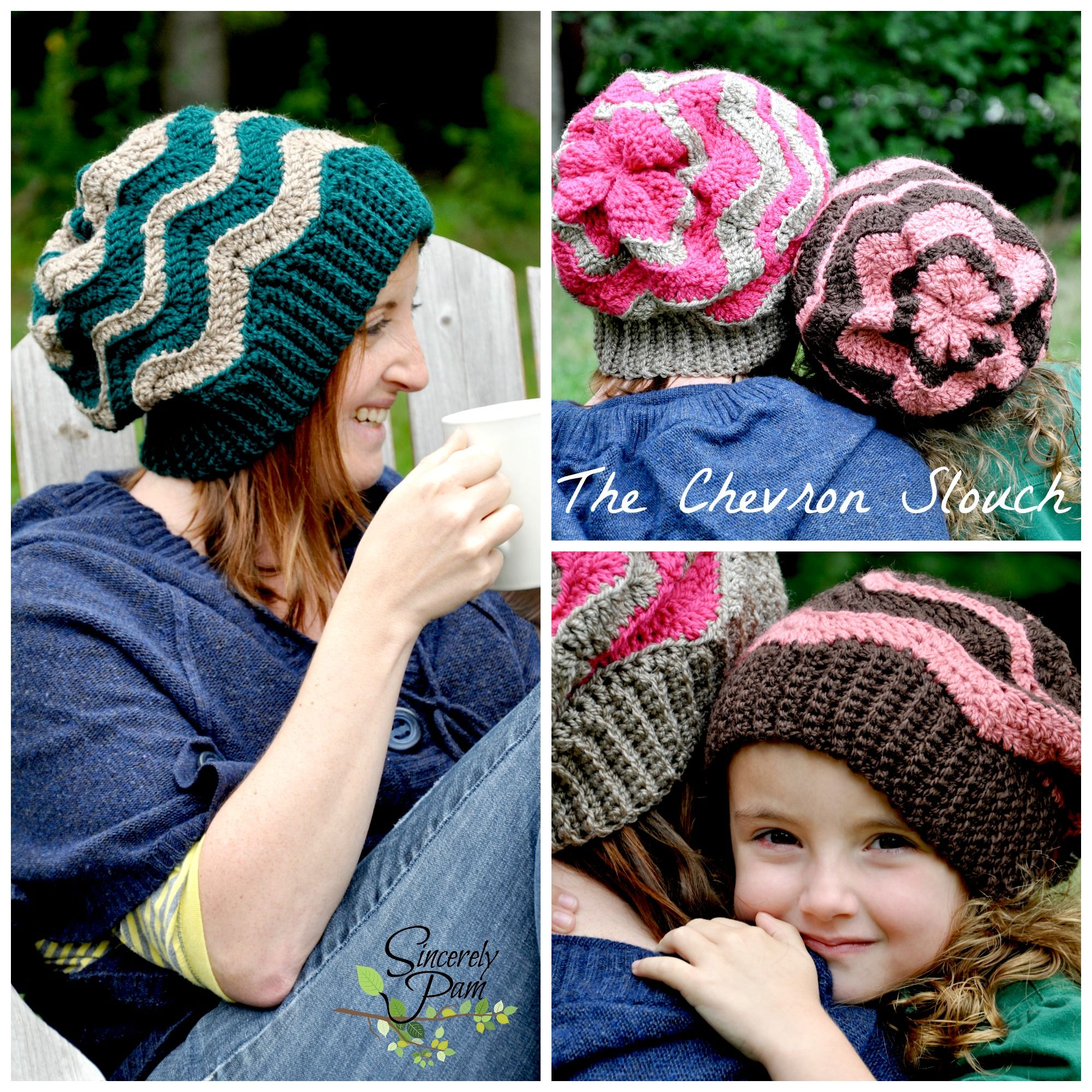Chevron Slouch Pattern by Sincerely Pam! www.facebook.com ...