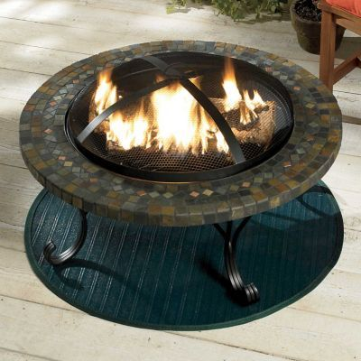 Firepit Grill Mat - Grill Mats Patios, Living Spaces And Outdoor Living