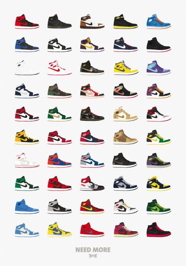 Posters Air Max 1 Jordan