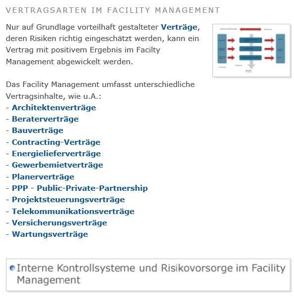 Vertragsarten Im Facility Management Project Management