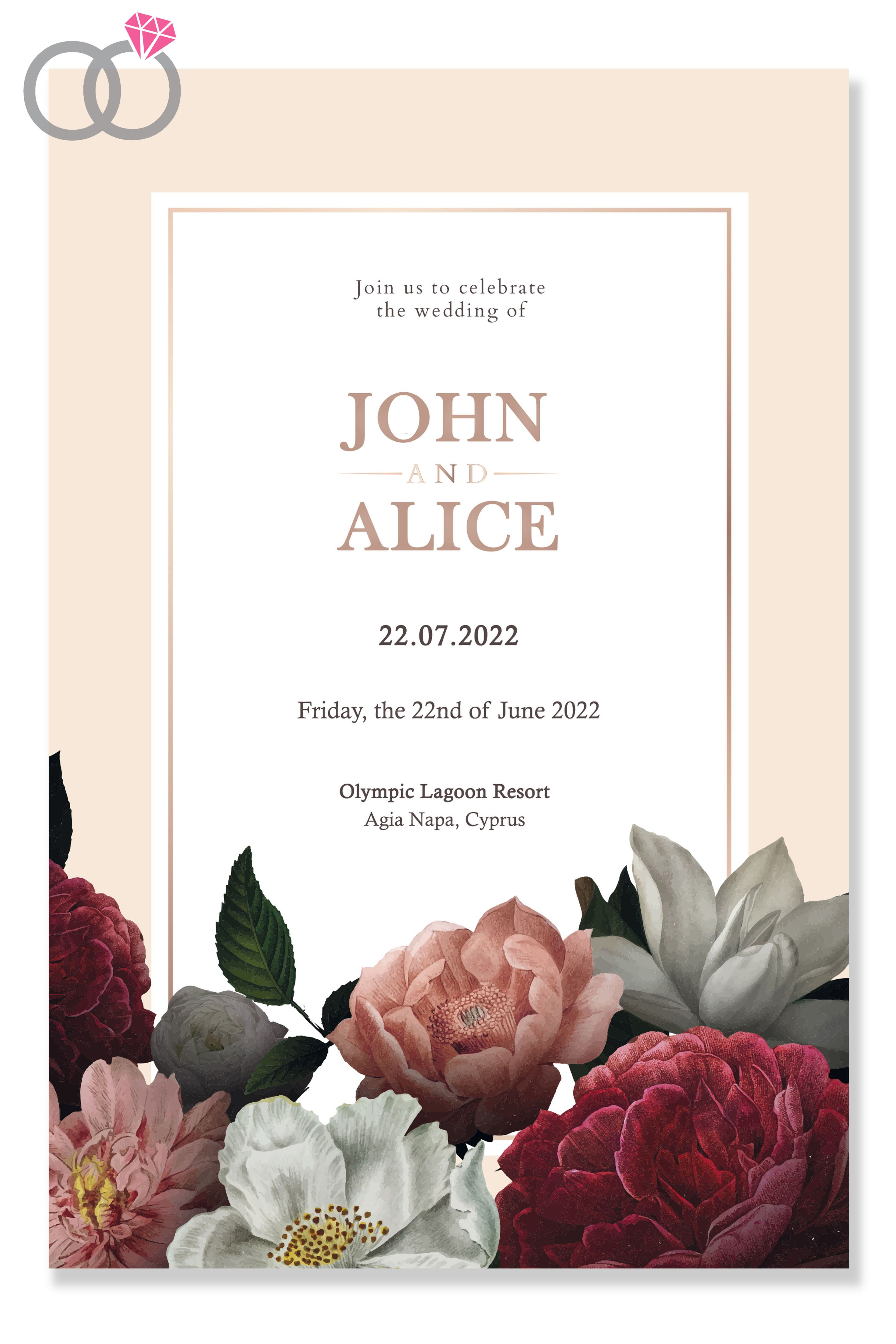 Pin on BYWD SAVE THE DATE CARDS INSPIRATION