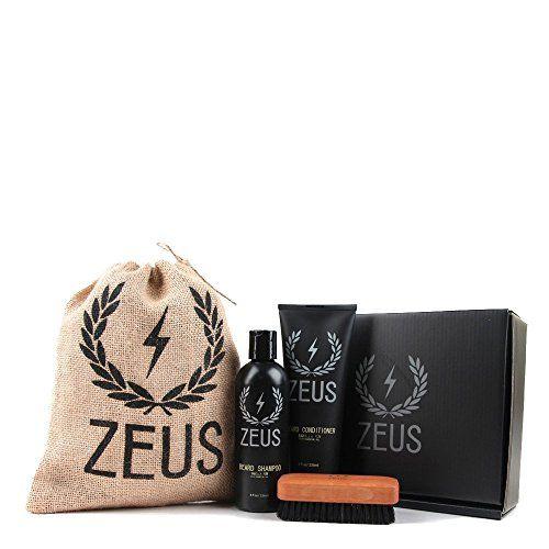 Zeus Basic Beard and Mustache Grooming Kit for Men Beard ...