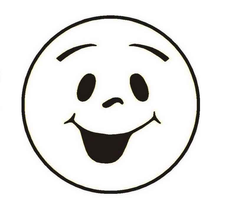 Smiley Face Coloring Pages Printable Desenho De Emoji Atividades Do Dia Das Maes Artes Em Eva