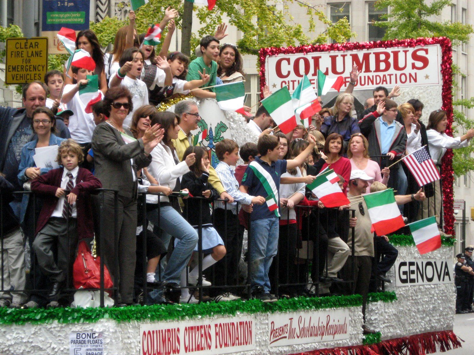 Columbus Day Parade New York City Columbus Day Parade Columbus New York City