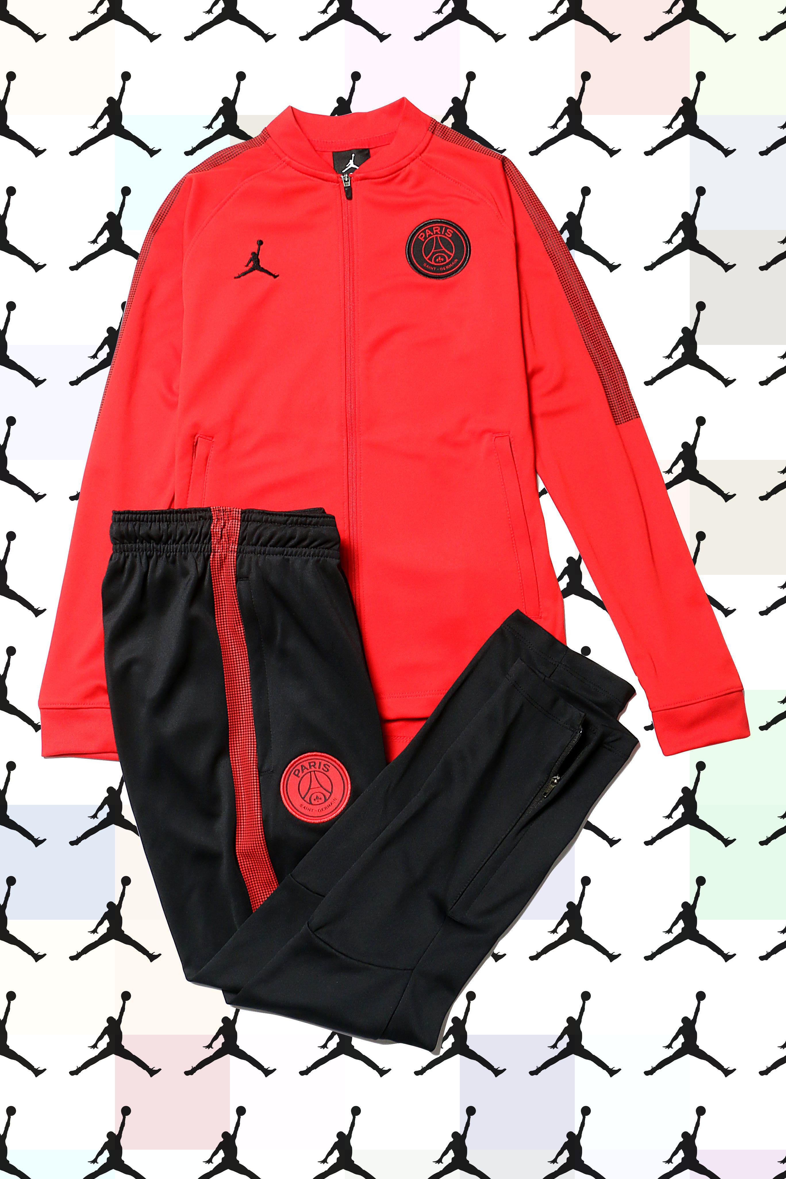 Chándal Nike  PSG niño paseo UCL Squad 18 2019 El PSG vestirá la marca   Jordan 4aed65df5e306