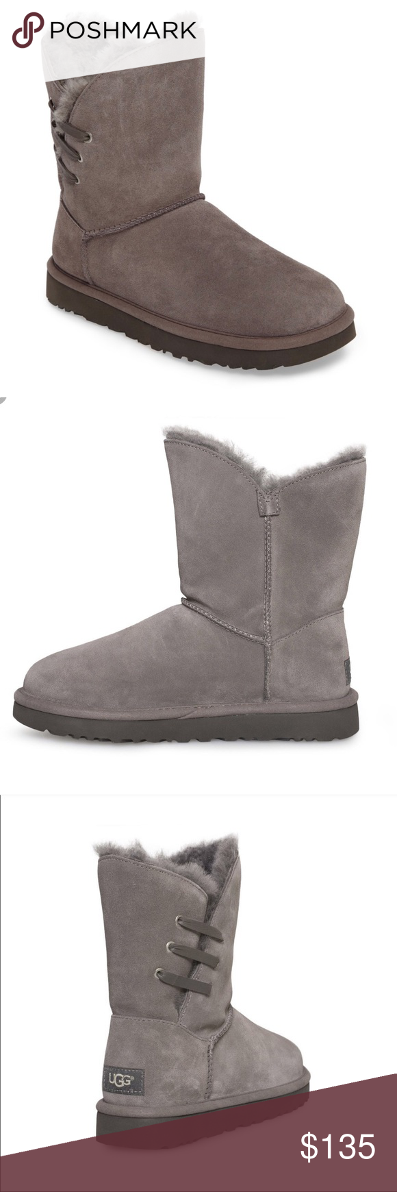 b24dd94e663 UGG Constantine Boots Charcoal Sheepskin NWT 6 UGG Constantine Boot ...