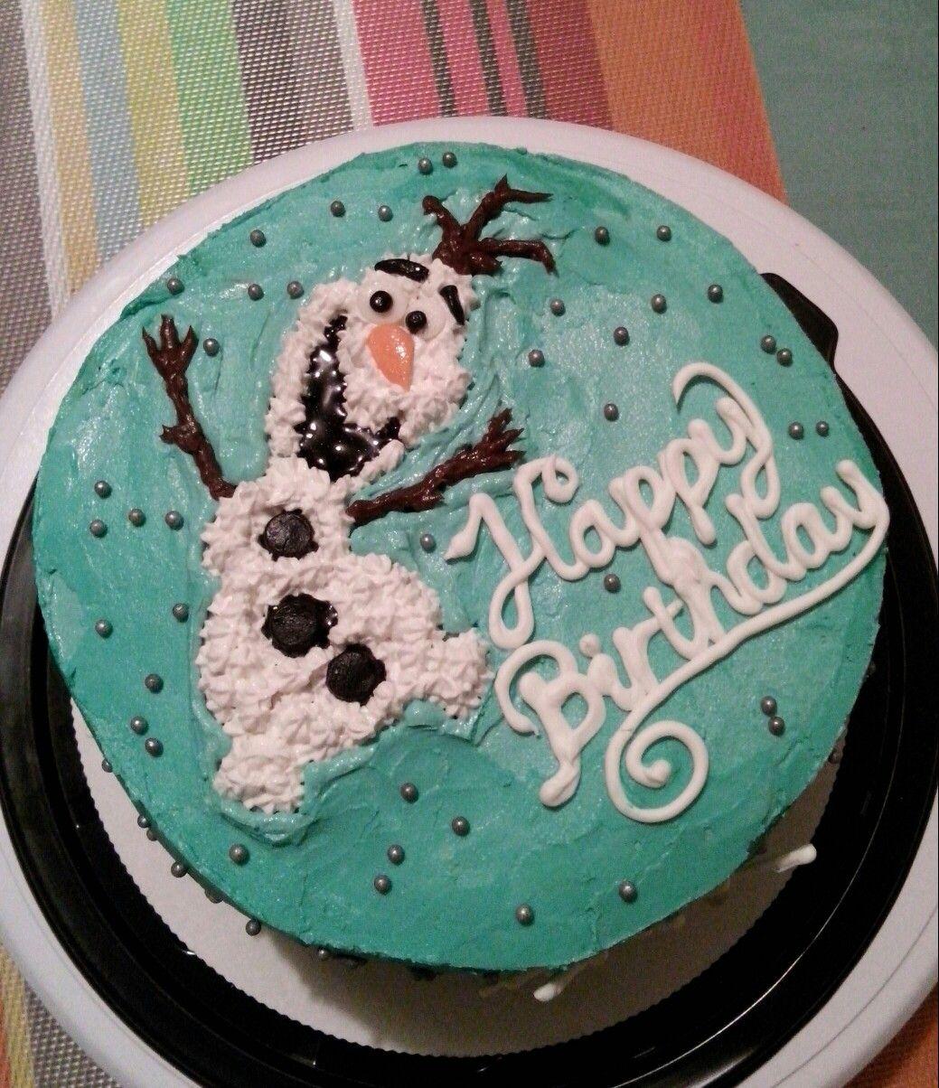 Olaf birthday cake pastel casero 100% fresh homemade baking #tulipáncupcakes en facebook