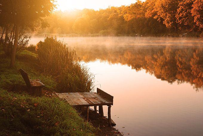 Осенняя идиллия в Канаде