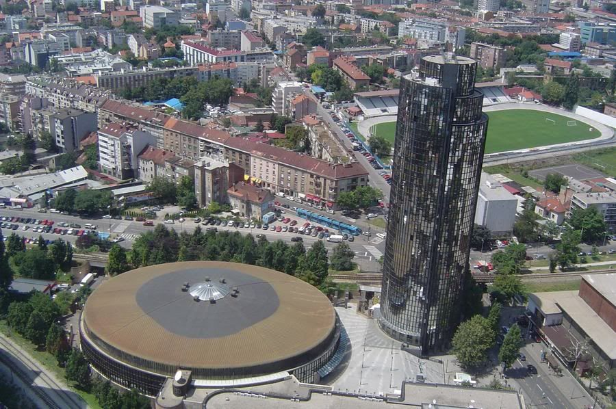 Drazen Petrovic Museum And Cibona Tower Zagreb Croatia Travel Zagreb Croatia