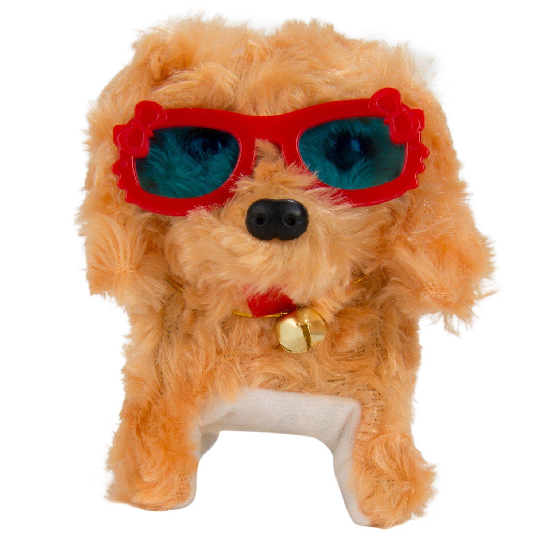 Birthday Gift For Kids Plush Interactive Puppy Dog Toy Walking