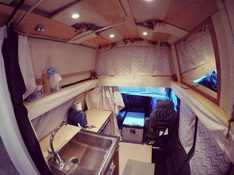480be8424c Watch this woman convert a van into a comfortable solar-powered home in 4  minutes (Video)   TreeHugger