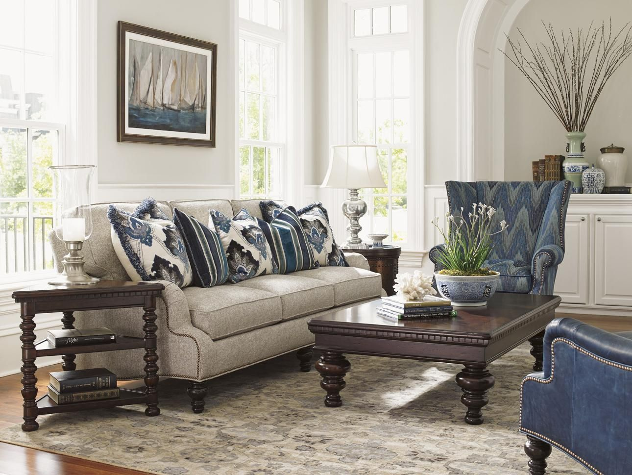 Tommy Bahama Living Room Modern Ideas With Brown Furniture Kilimanjaro Stationary Group By Home At Belfort