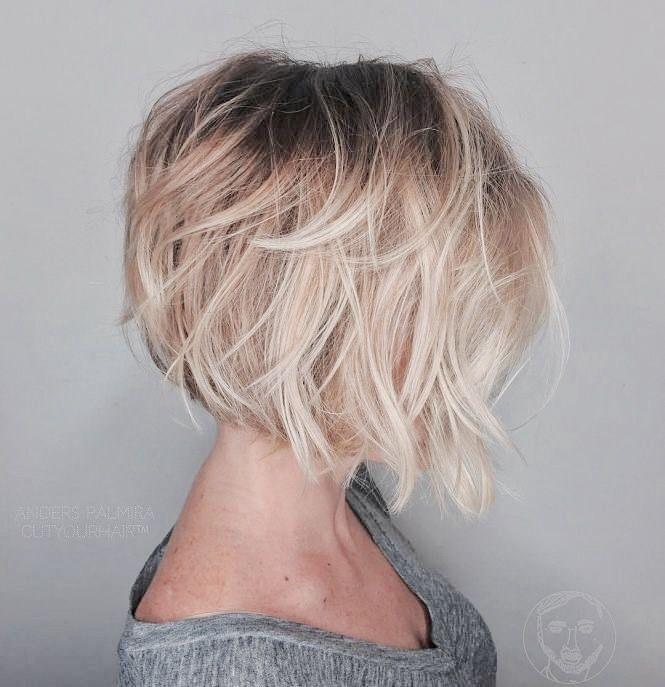 Bob Hairstyles For Fine Hair Prepossessing Pinnteaman On Short Haircuts For Women  Pinterest  Hair