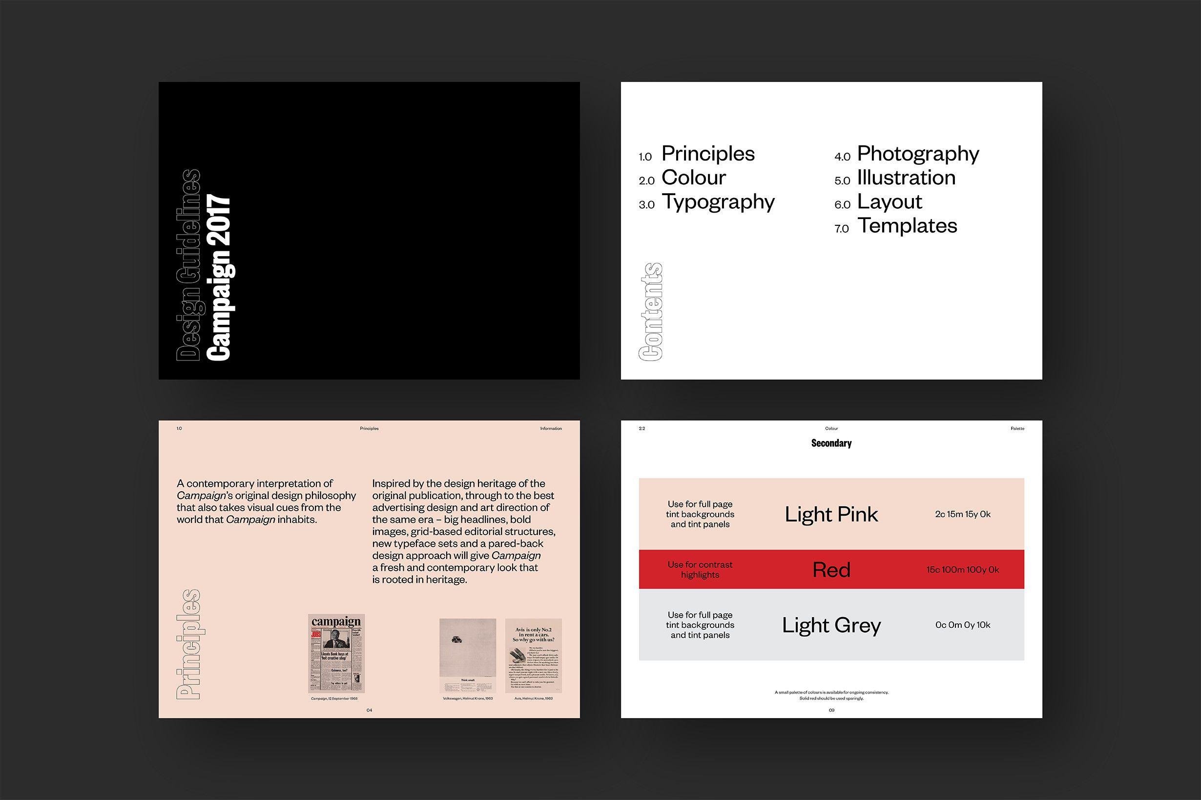 Intercity Campaign Design Guidelines Design Campaign Design Guidelines Layout Template