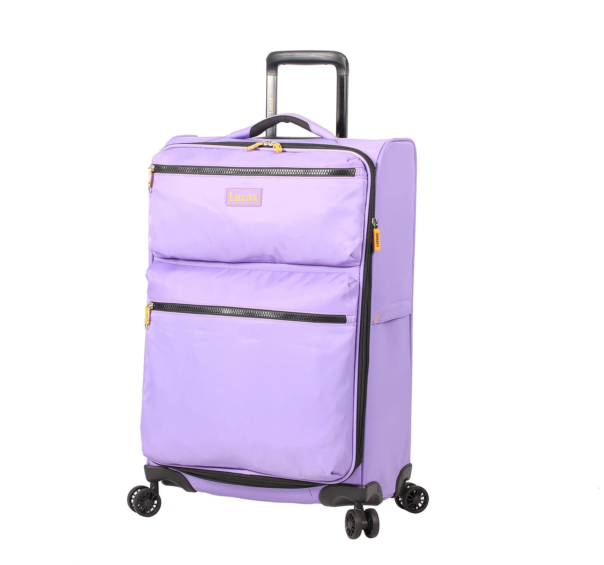 Lucas Ultra Lightweight Large Softside 28 inch Expandable Luggage ...