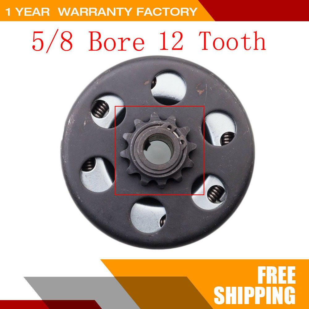1-3//8 Inch 10-Spline Flathead 10-1//2 Inch Clutch Disc