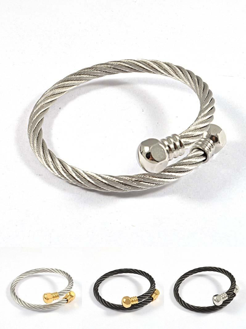 Visit to buy fashion trendy silver gold stainless steel clasp