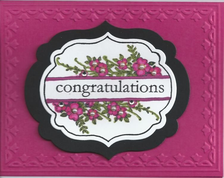 Apothecary Congratulations by CraftyMerla - Cards and Paper Crafts at Splitcoaststampers