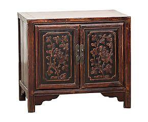 Mueble auxiliar de madera de olmo Foshan