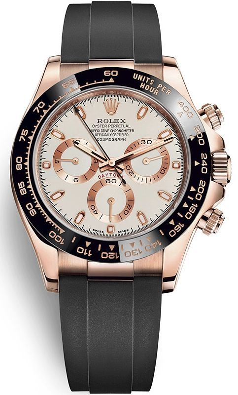 143bf36ca01 Brand  Rolex Collection  Cosmograph Daytona Model  116515LN-0014 Case  Material  18K Everose Gold Case Diameter  40.0 mm Dial Color  Ivory Bracelet   ...
