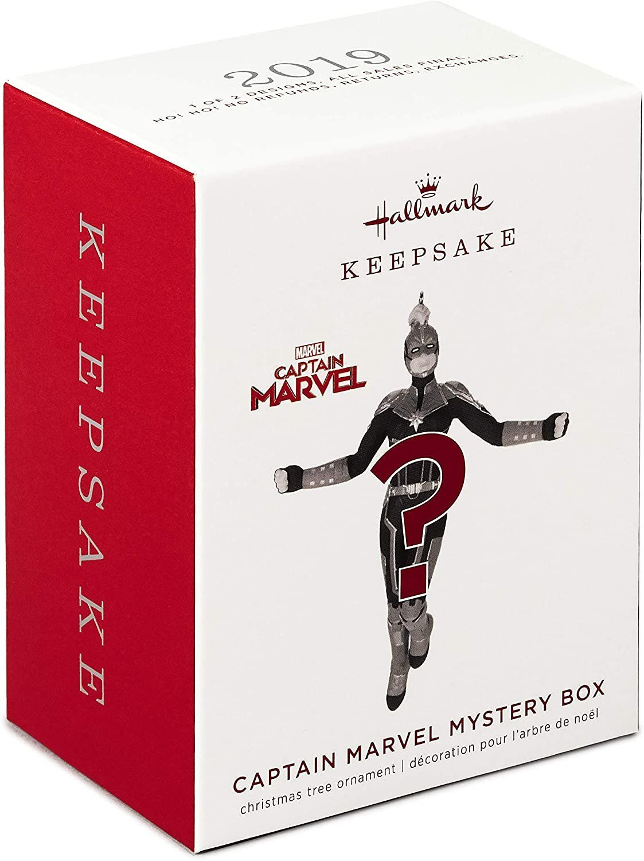 Marvel Captain Marvel Keepsake Box