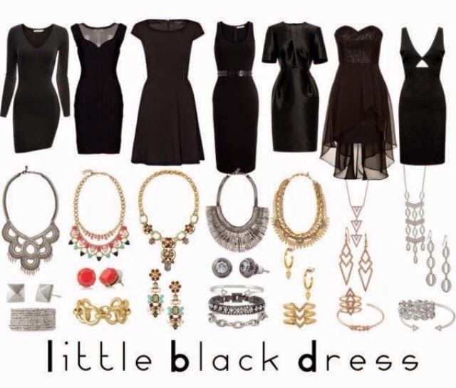 Dress up your little black dress with stella dot www s for Jewelry accessories for black dress