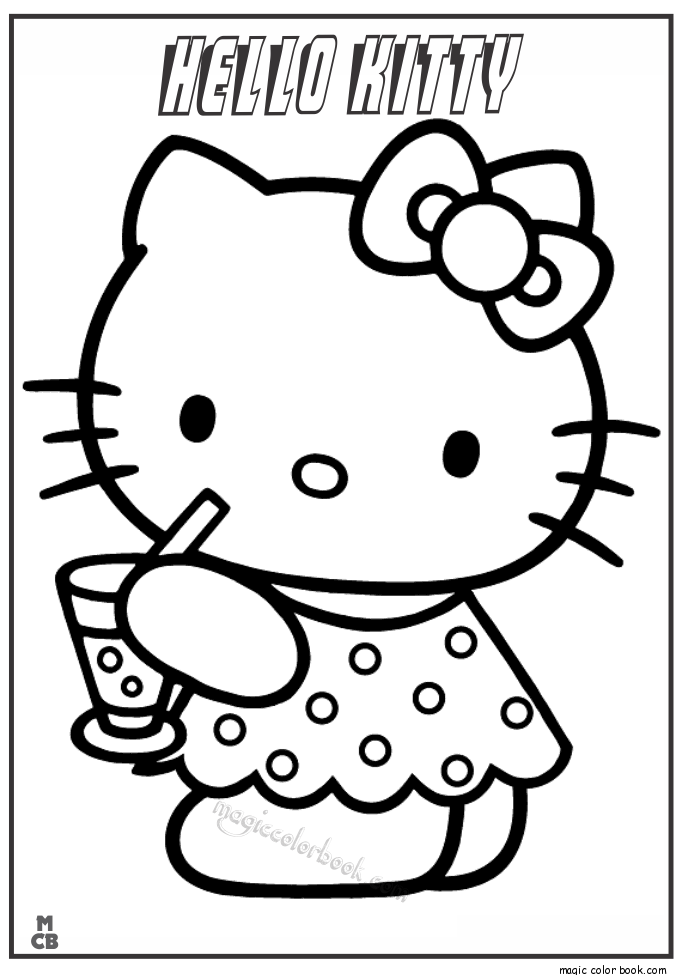 Pin By Magic Color Book On Hello Kitty Coloring Pages Free Online Rhpinterest: Hello Kitty Coloring Pages Free Online At Baymontmadison.com
