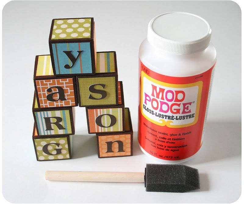 @Christy Bode look at the name on these blocks :) Love ...