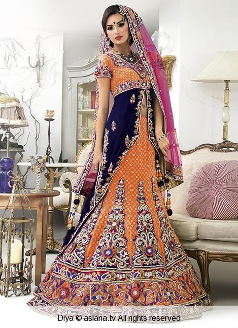 diya Pakistani bridal outfit
