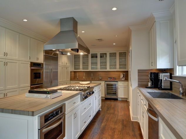 The Mansion Prominent Dallas Gallery Owner Culturemap Butcher Block  Countertop
