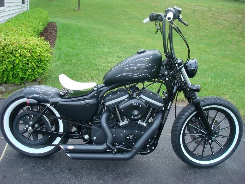 Iron 883 bobber | Motorcycles | Harley davidson bikes