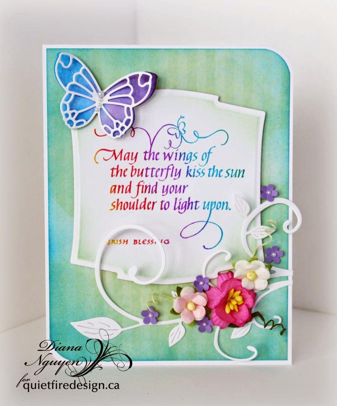diana nguyen quietfire poppystamps spellbinders butterfly
