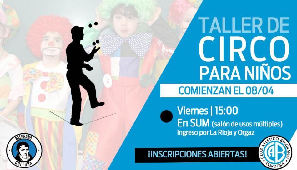 @Belgrano : #BelgranoCultura | Los viernes ahora hay Taller de Circo para niños en #Belgrano! GRATIS! https://t.co/ntkS6agnAf