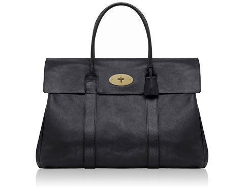 Mulberry - Piccadilly in Black Natural Leather