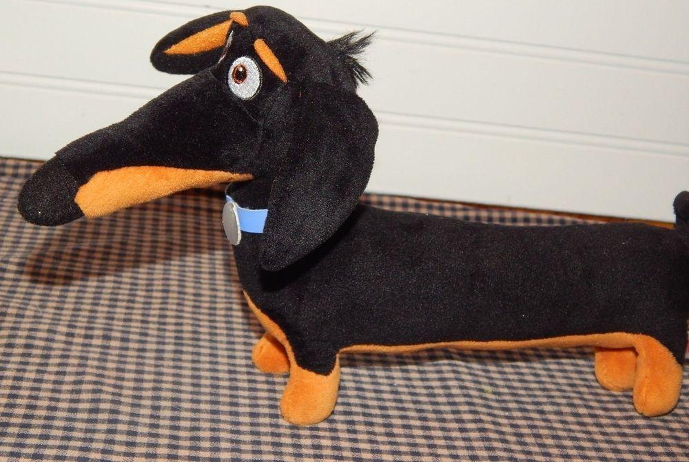 The Secret Life Of Pets Buddy Dog Dachund 11 Plush Toy Stuffed