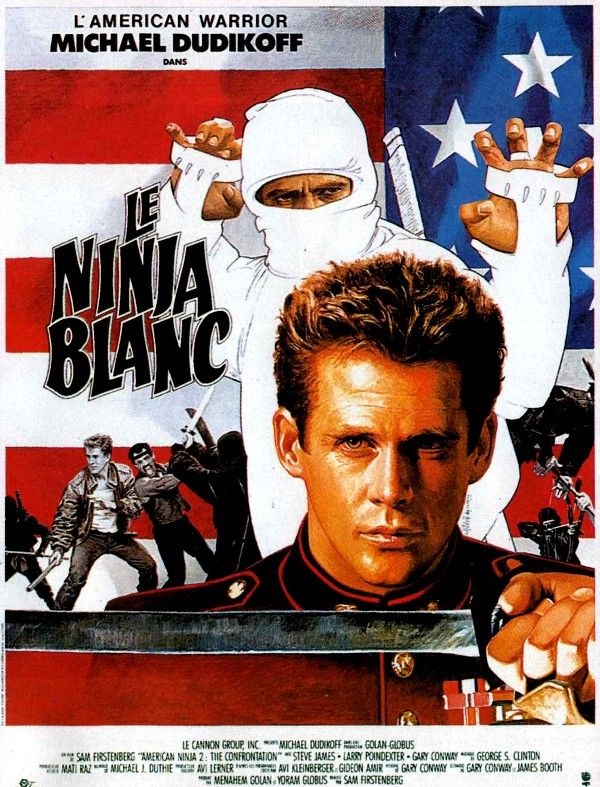 95 American Ninja 2 The Confrontation 1987 With Images