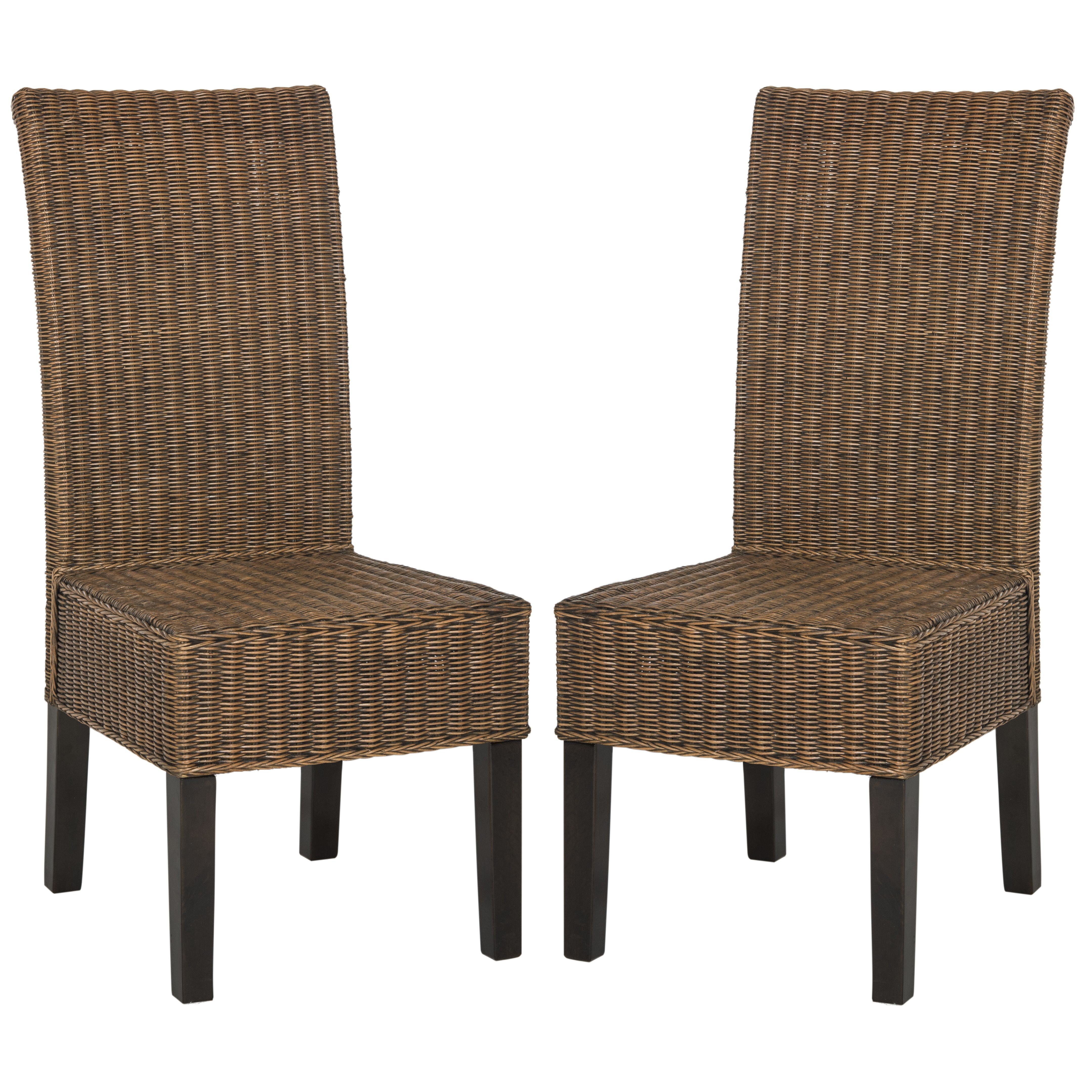 Willow Side Chair Wicker dining chairs, Dining chairs