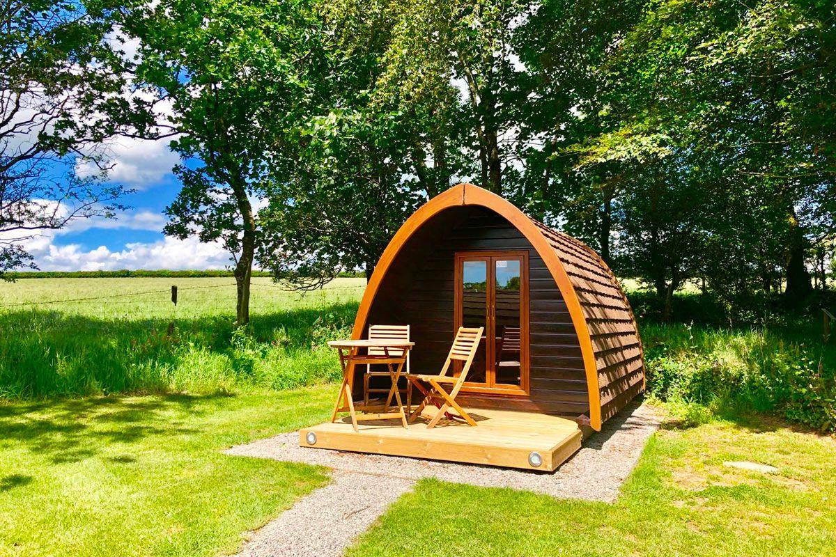 Cute Honeymoon UK Adventures | Camping pod, Stay the night ...