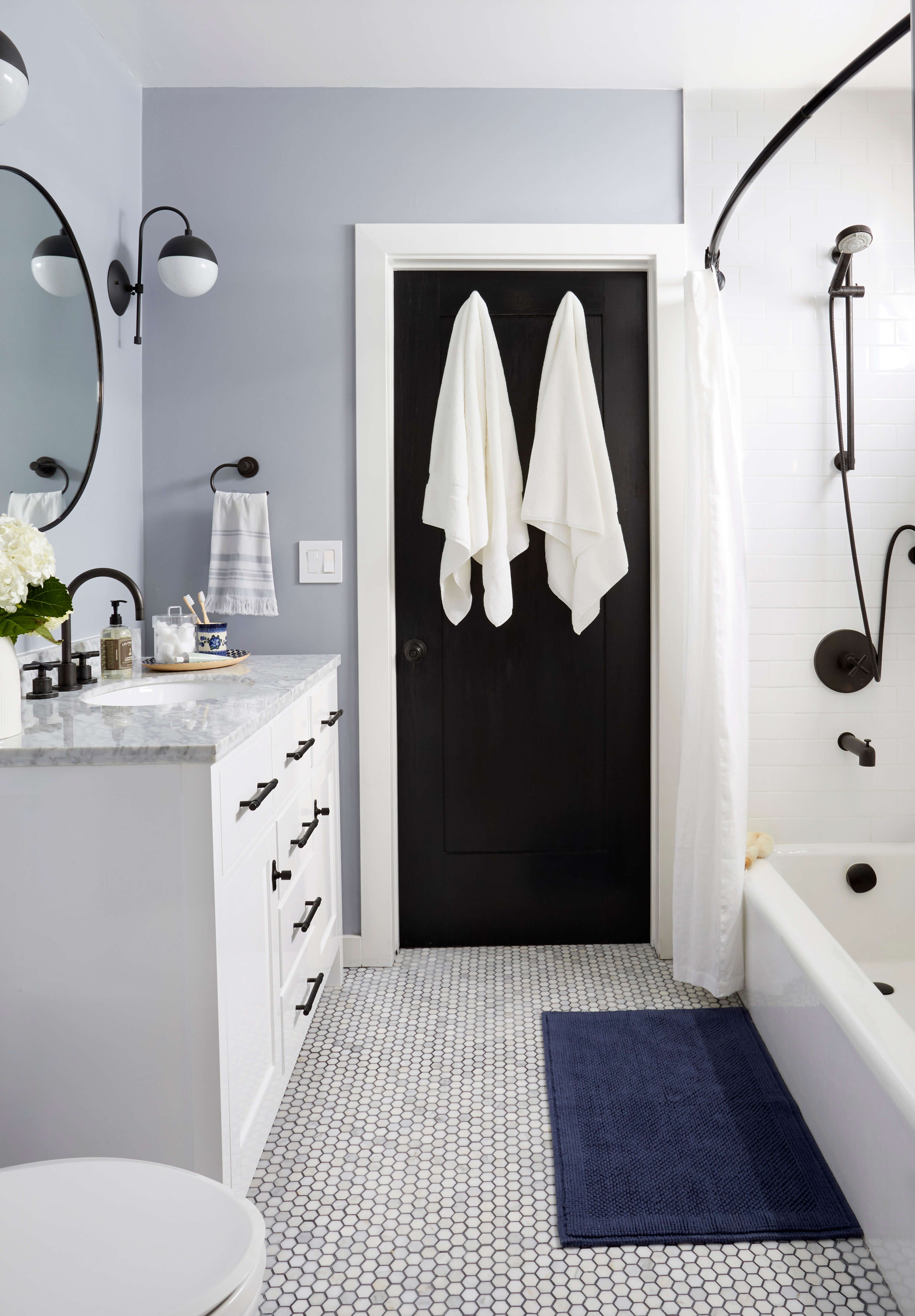 Modern Traditional Bathroom Refresh (Emily Henderson) | Eclectic ...