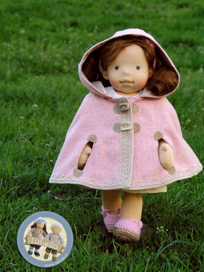 Julianna - natural fiber art doll by Lalinda.pl